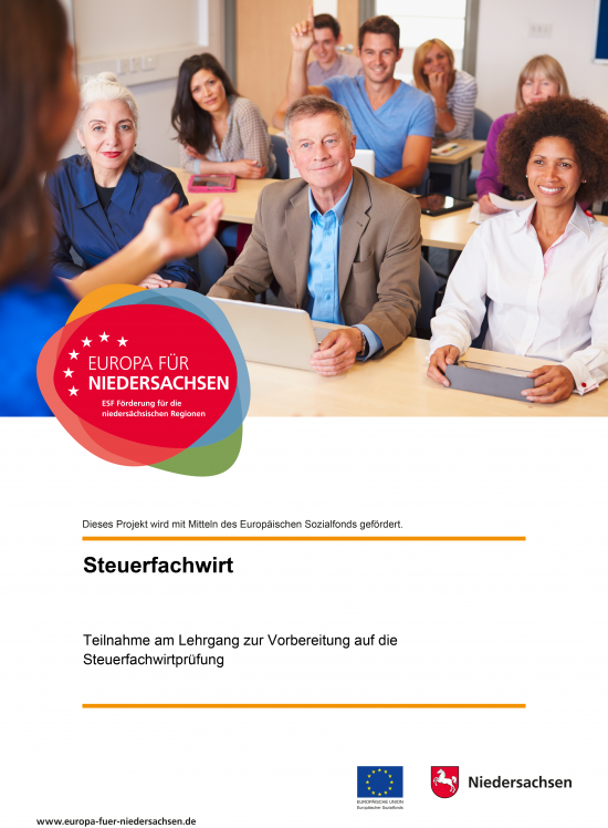 Plakat Deeken & Partner Steuerfachwirt